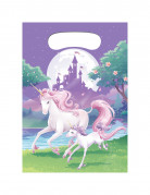 8 bustine per caramelle Magico Unicorno