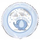 Palloncino in alluminio Elefante blu 46 cm