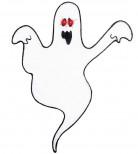 Decorazione per Halloween: fantasma con occhi lampeggianti