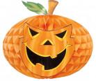 Zucca di Halloween in carta alveolata