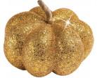Decorazione Halloween: zucca colore oro