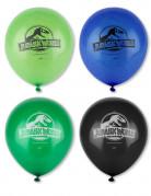 8 palloncini Jurrassic World in lattice