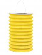 Lanterna cinese di carta gialla