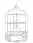 Gabbia per uccelli bianca da decorazione 30 cm