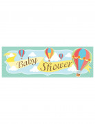 Striscione Baby Shower Piccola Mongolfiera