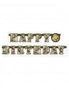 Ghirlanda con scritta Happy birtday