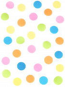 Sacchetto coriandoli in carta velina multicolore