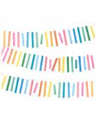 Ghirlanda swen con frange multicolore