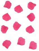100 petali di tessuto color fucsia
