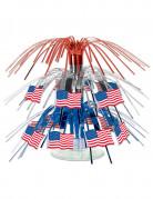 Centrotavola con bandiere USA