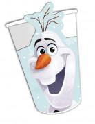 Confezione 8 bicchieri di carta Olaf Christmas™