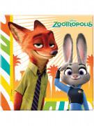 20 Tovaglioli di carta Zootropolis™