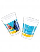 8 bicchieri di plastica da 200 ml Dory™