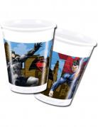 8 bicchieri tema Batman vs Superman™