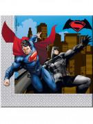 20 Tovaglioli usa e getta Batman vs Superman™