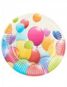 10 piattini palloncini volanti