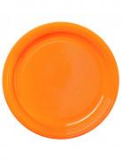 30 piatti color mandarino 22 cm