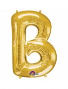 Palloncino in alluminio lettera B dorata