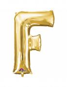 Palloncino lettera F dorata