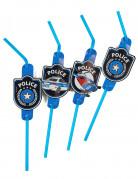 8 cannucce flessibili polizia