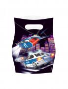 8 sacchetti della polizia
