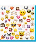 16 tovaglioli Emoji™ da 33 cm