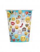 8 bicchieri di carta Emoji™