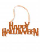 Decorazione di Halloween: decorazione per porta con paillettes