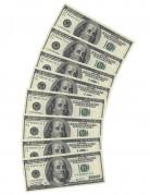 10 tovaglioli di carta rettangolari Dollaro