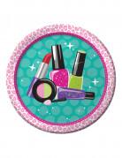 8 piatti in cartone Make Up