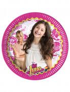 8 piatti di cartone Soy Luna 23 cm