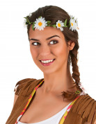 Coroncina di fiori bianchi adulto