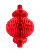 Lanterna alveolata di carta 30 cm