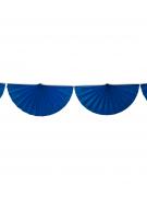 Ghirlanda di ventagli blu