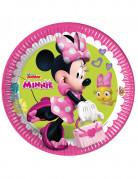 8 piatti di cartone Minnie Happy™ 23 cm