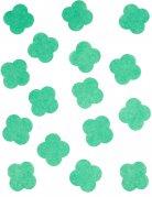 Coriandoli di carta trifogli verdi