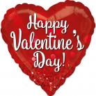 Palloncino cuore Happy Valentine's Day
