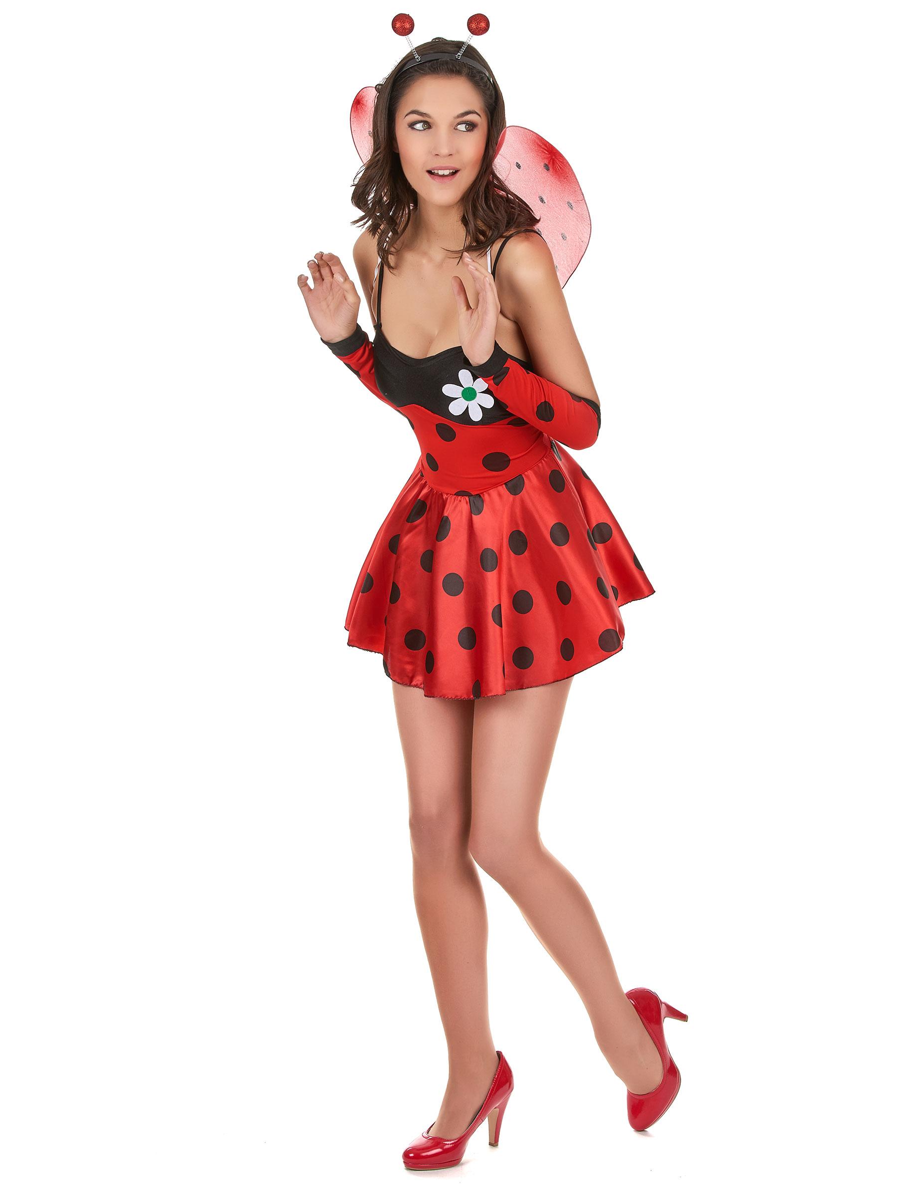 Costume da coccinella sexy per donna su VegaooParty f6e39ca9b59