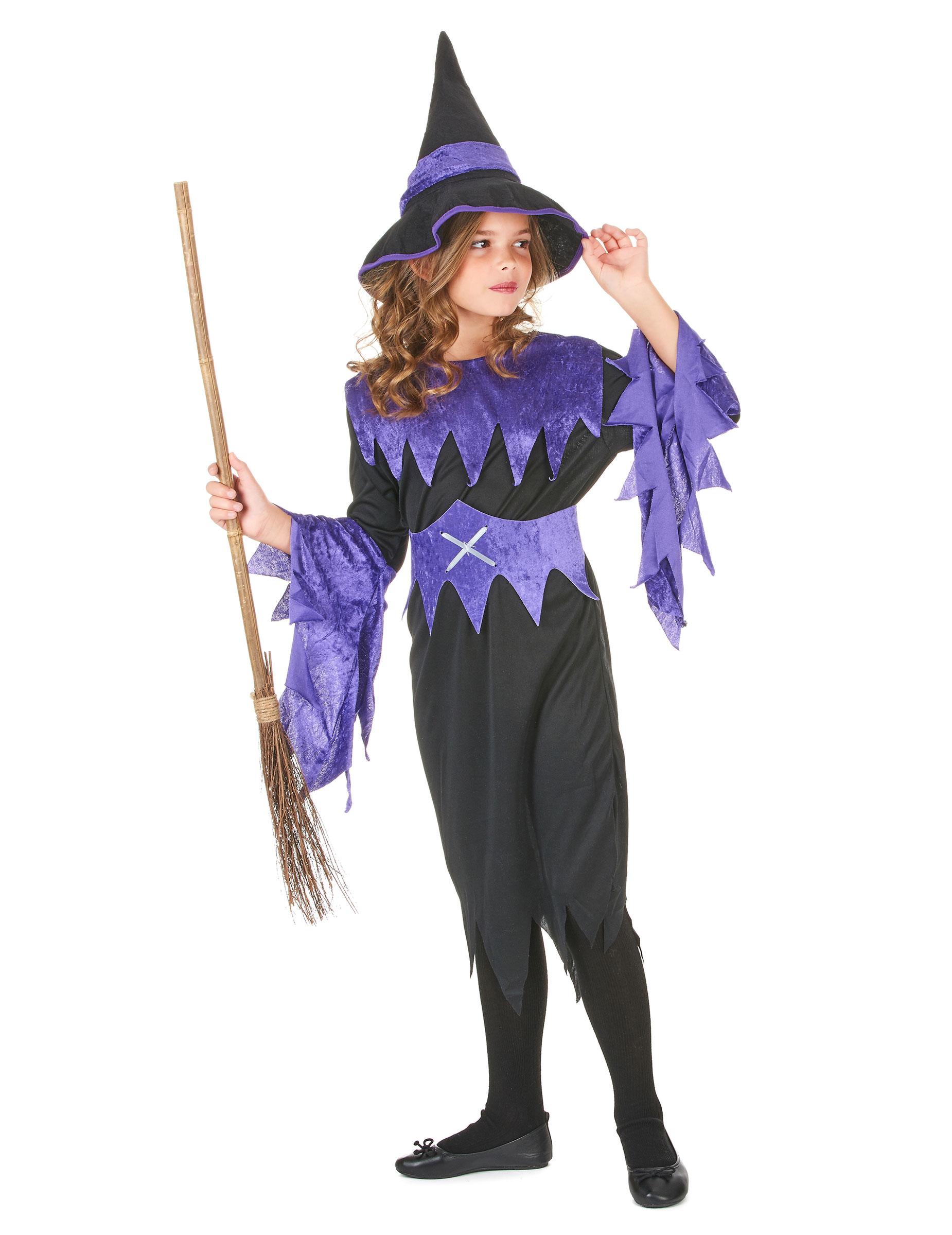 Costume da strega per Halloween da bambina su VegaooParty bb9de58d674c