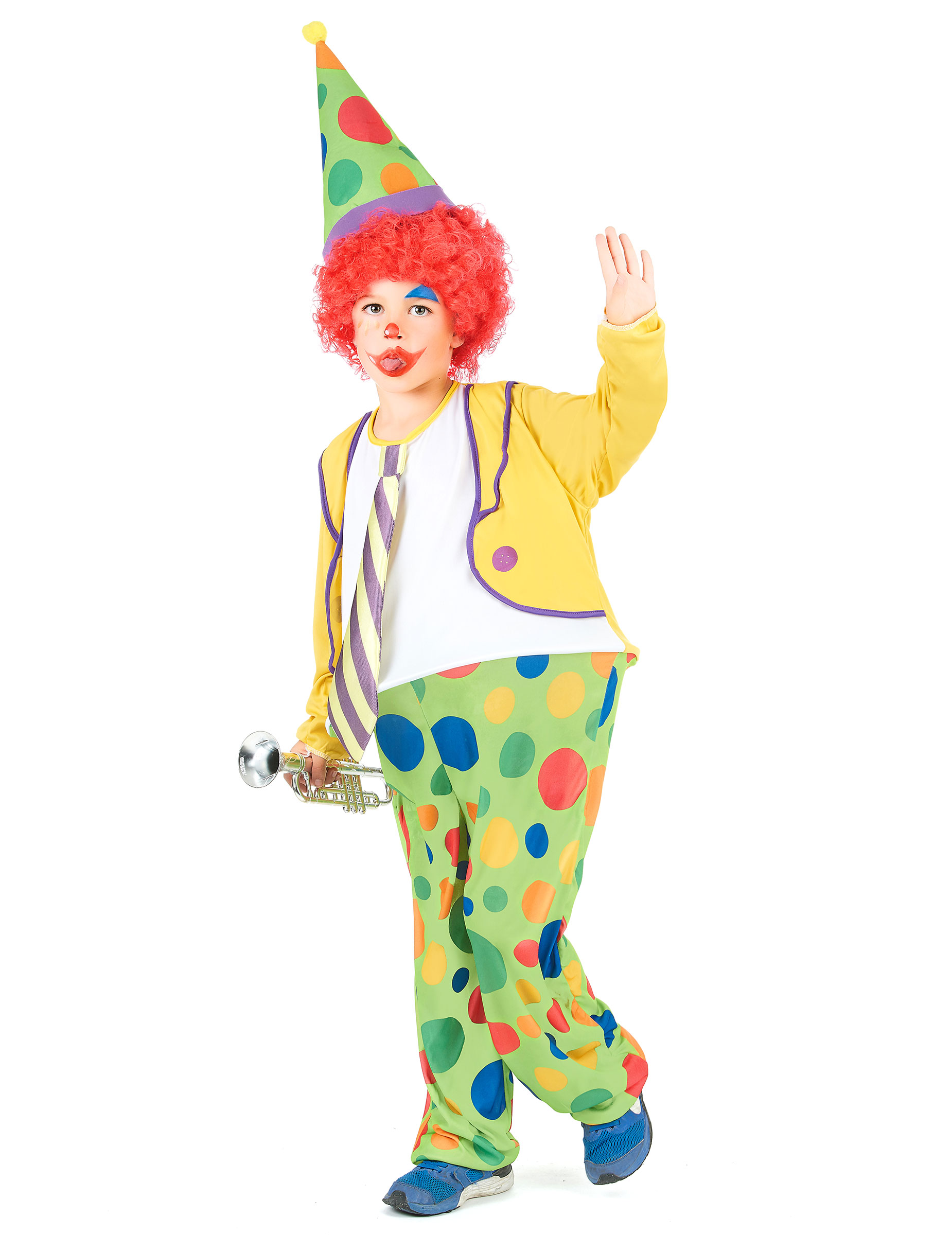 Costume Pagliaccio bambino su VegaooParty 871652cbf4c