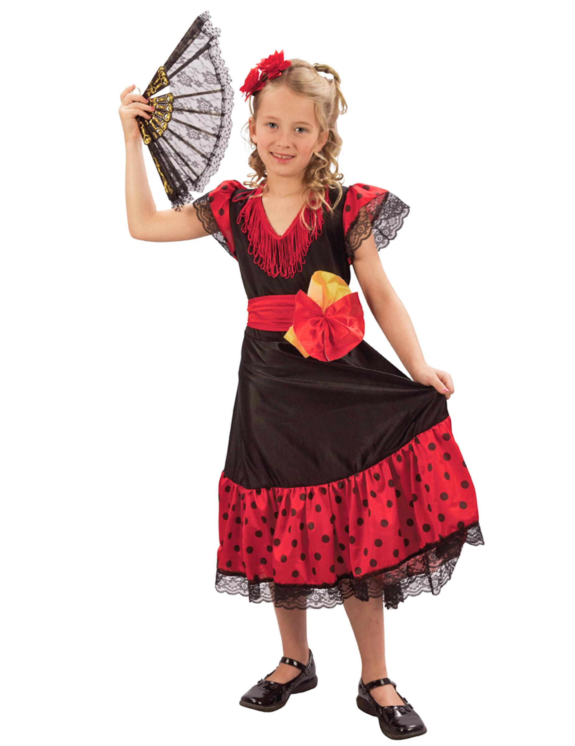 Costume da spagnola bambina su VegaooParty eba707da40c