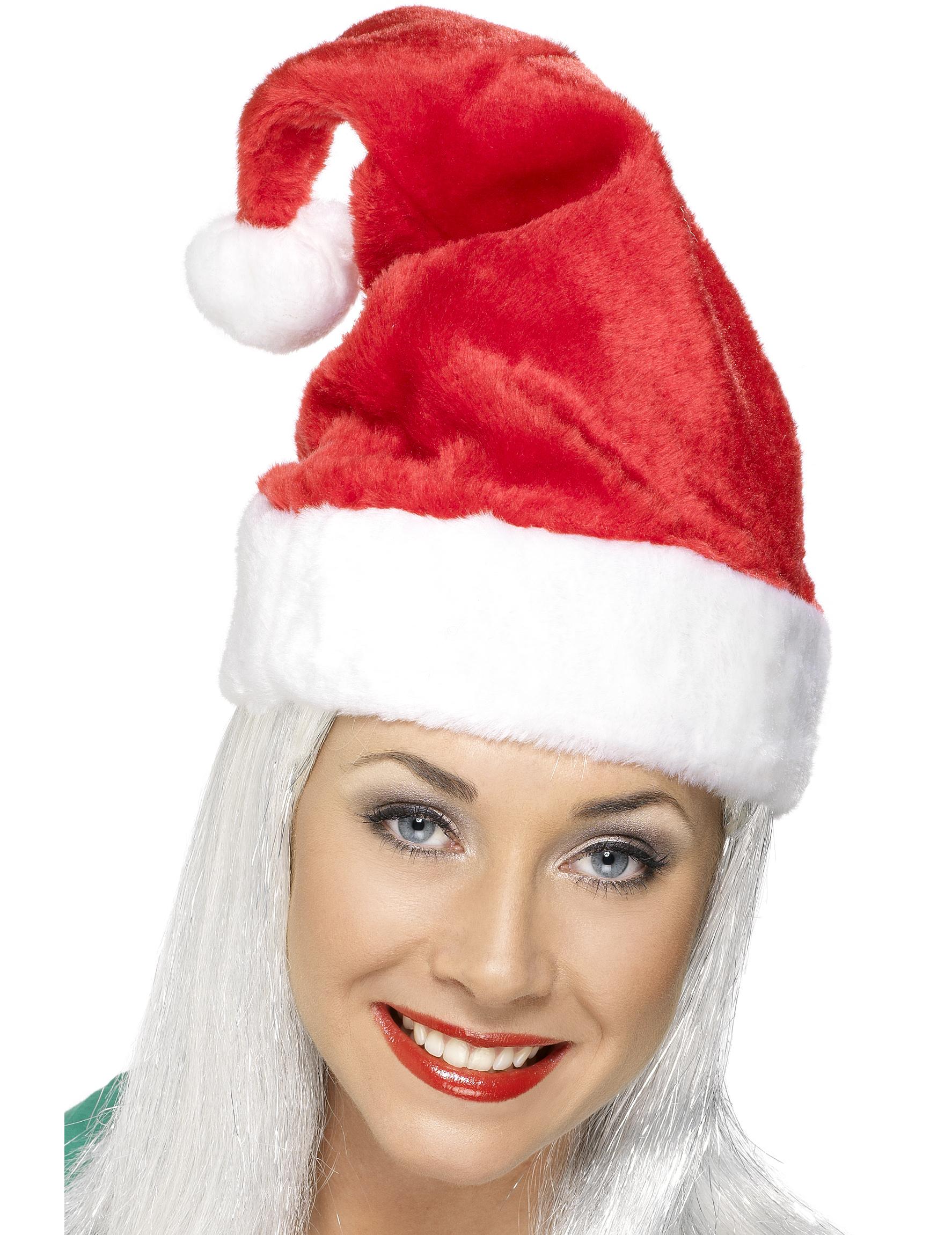724b6b1c88 Da Babbo Natale.Cappello Da Babbo Natale Di Colore Rosso Su Vegaooparty  Negozio Di