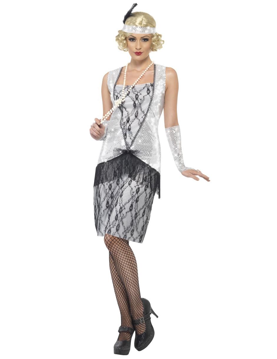davvero economico dove posso comprare davvero economico Costume donna anni '20 charleston su VegaooParty, negozio di articoli per  feste