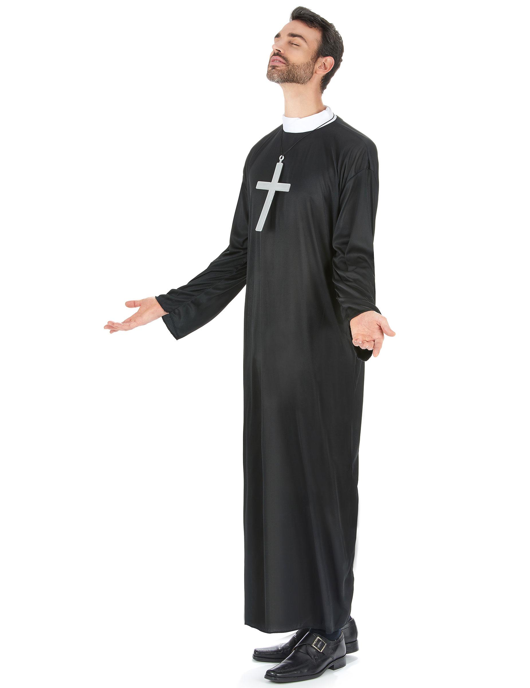 Costume da suora e sacerdote per coppia su VegaooParty 8d8c4bf0fa01