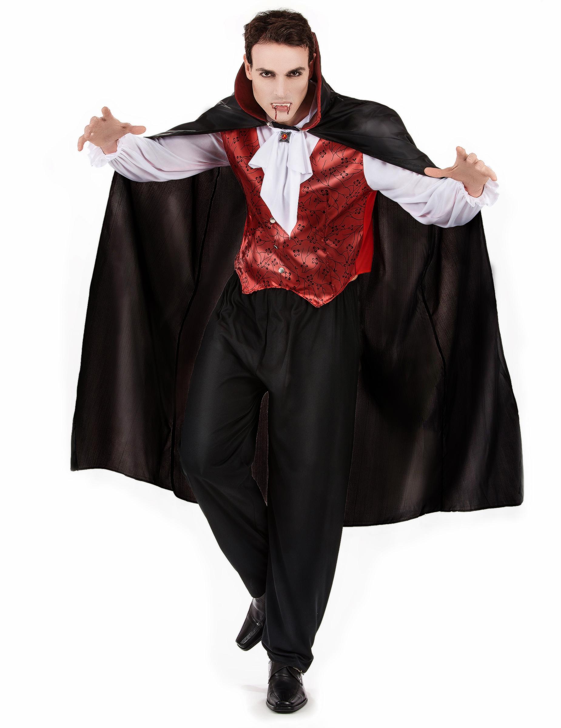 Travestimento da vampiro uomo per Halloween su VegaooParty 1f36aee9bd94