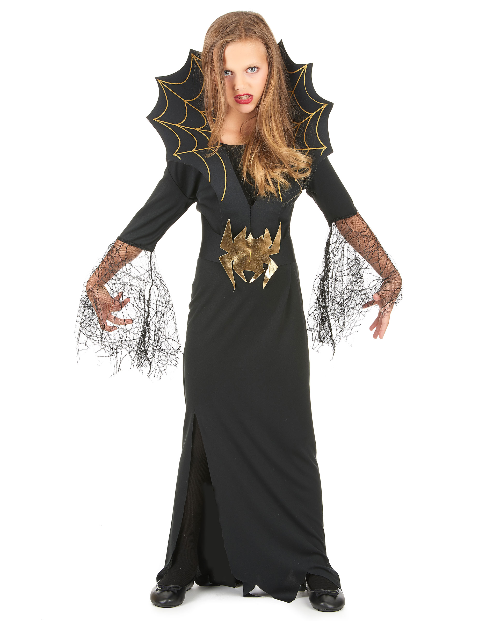 Costume strega ragno bambina Halloween su VegaooParty 82d6584f057c