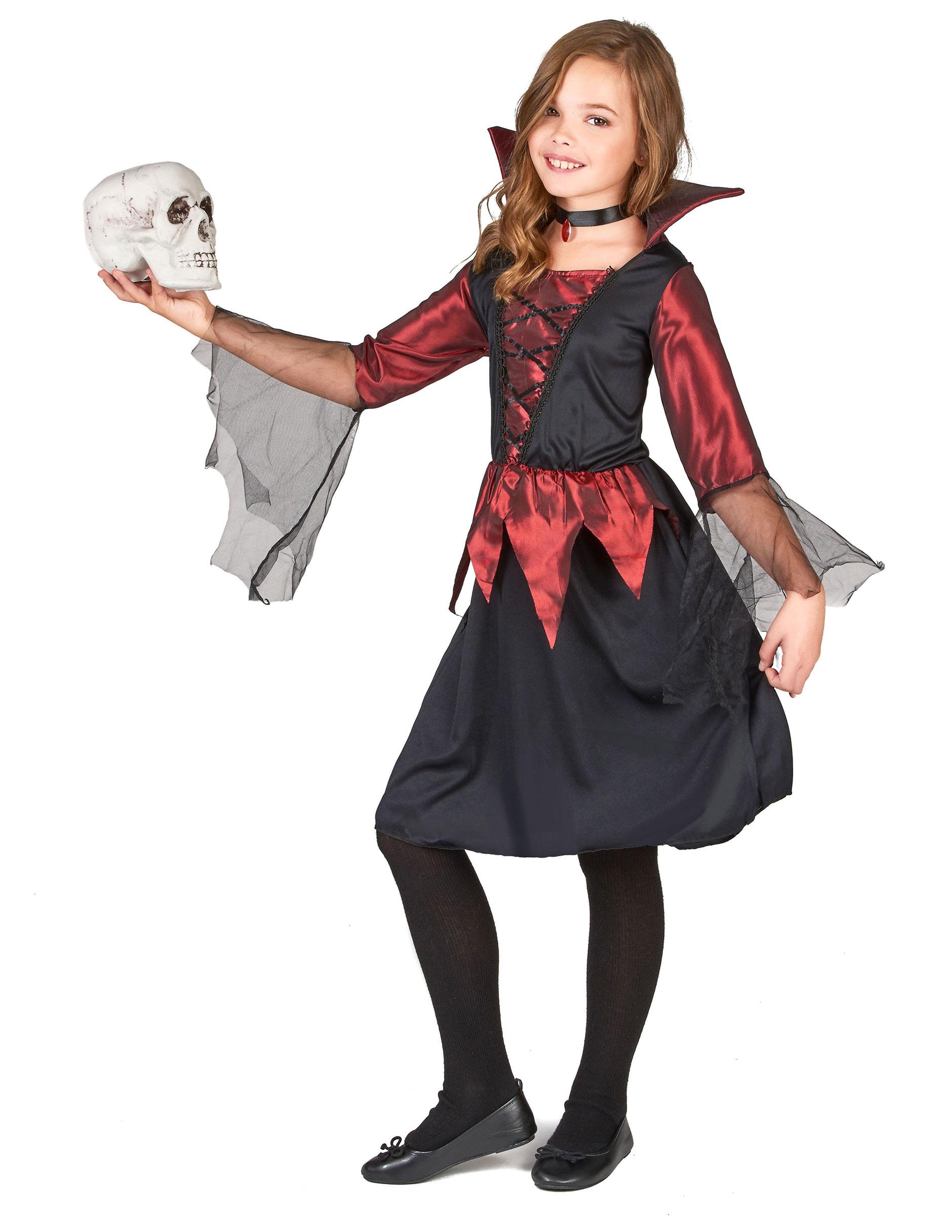 Costume da vampiro per bambina per Halloween su VegaooParty 6cfd84feb955