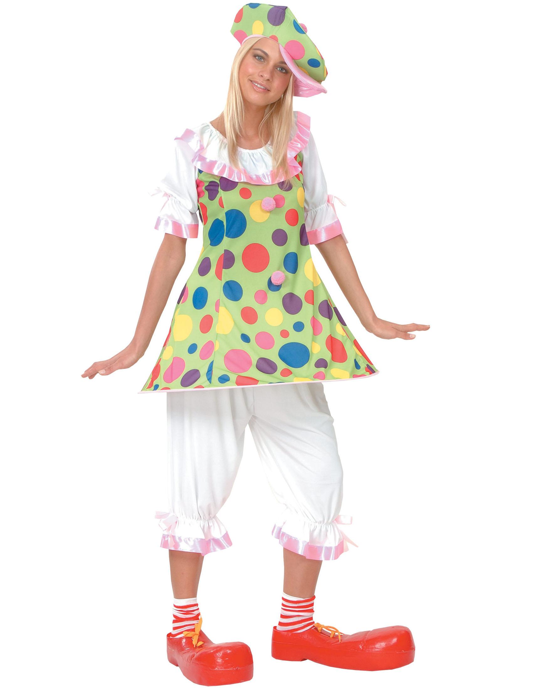 Costume da pagliaccio per donna su VegaooParty 058e82ba2ff