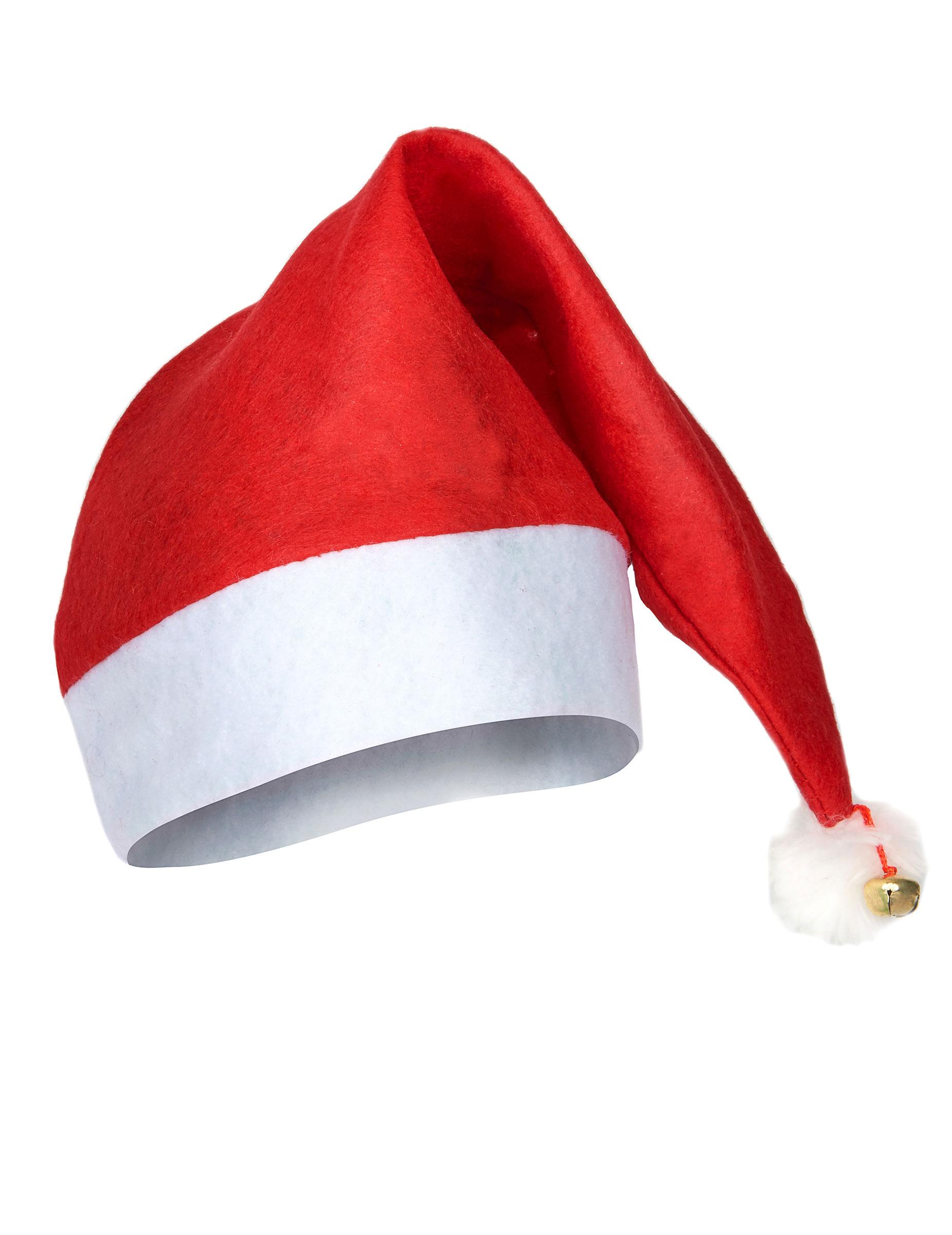 Berretto di Babbo Natale per adulto su VegaooParty 909456387302