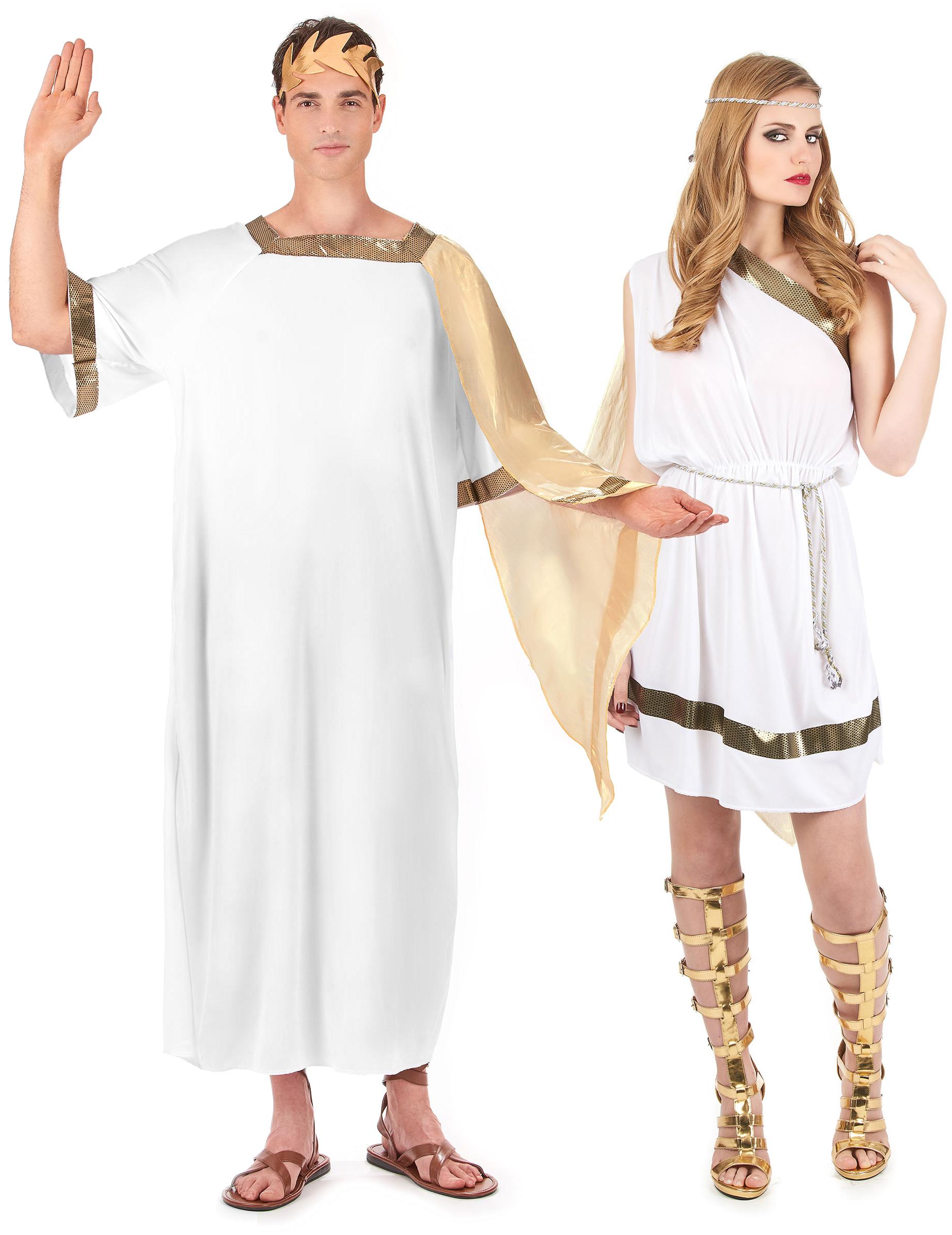 Coppia di costumi da antichi romani su VegaooParty 12ae735d473